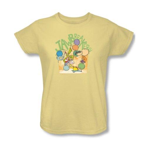 Ed, Edd N Eddy–Donna Jawbreakers t-Shirt in Banana Banana X-Large