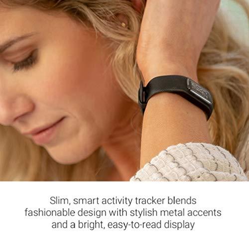 Garmin vívosmart 4 - Bracelet d'activité ultra-fin avec oxymètre de pouls et cardio poignet -...