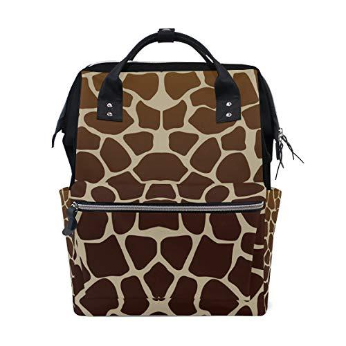 Sac /à langer multifonction /étanche momie sac /à main girafe tigre z/èbre imprim/é grande taille #3217