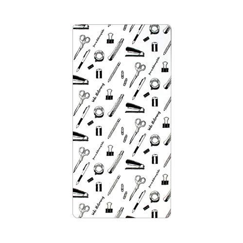 和気文具オリジナル 下敷き 文房具柄 トラベラーズノート レギュラーサイズ用