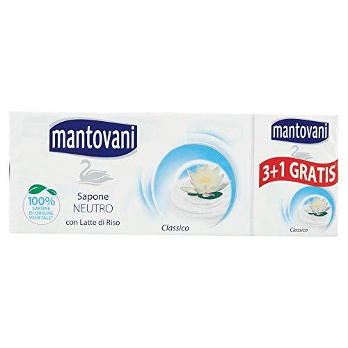 Mantovani Savon 24 x 100gr neutre avec lait de riz