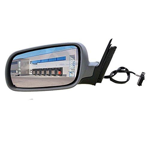 1x Außenspiegel links asphärisch grundiert beheizbar inneneinstellbar elektrisch ohne Blinklicht