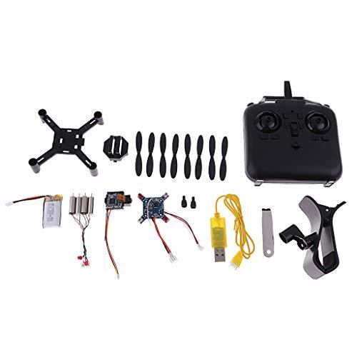 SM SunniMix Mini RC Drone Quadcopter Modelo Quad para DIY Bricolaje Montar Ensamblar