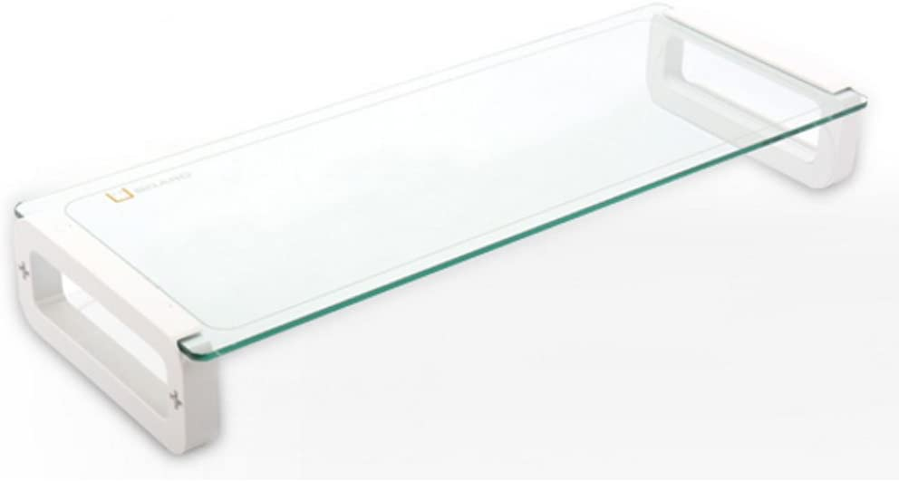 U-Board Basic/Monitor/Stands/PC/Mouse/Keyboard/Laptop/Desktop/Computer/Computer Accessories / (White)