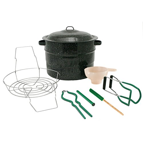 Canning Set, 8-Piece, Black