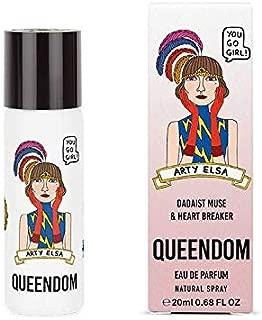 Queendom Perfume Arty Elsa for Women - Fruity Edible Fragrance - 20ml Eau de Parfum Mini Spray