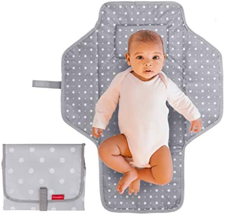 Portable Changing Pad Travel Kit Baby Lightweight Waterproof Infant Compact Clutch Foldable product image