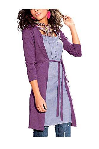 AJC Damen-Kleid Two-in-One Strickkleid Mehrfarbig Größe 38