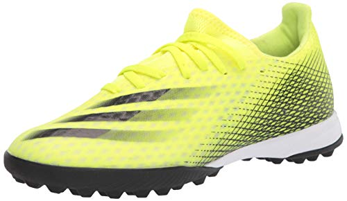 adidas,Mens,X Ghosted.3 Turf,Solar Yellow/Black/Team Royal Blue,7