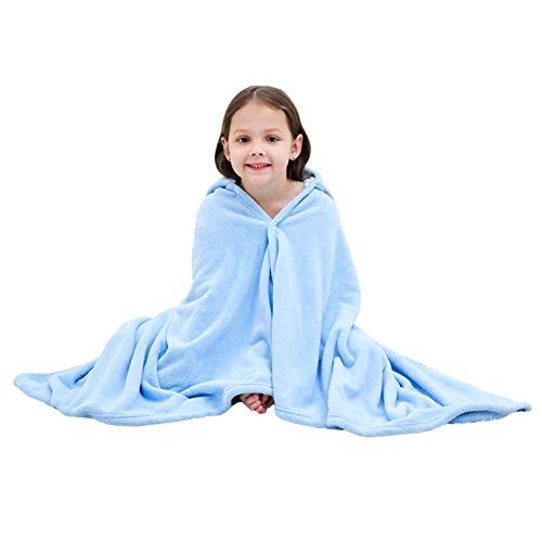 Xiang Ru Toallas de baño con capucha de tamaño grande, diseño de cara de animal para niños y niñas de 1 a 10 años