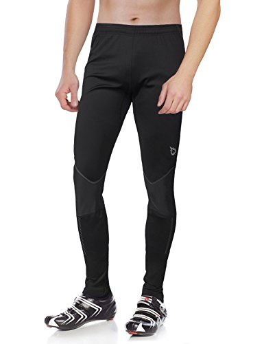 Baleaf Men's Windproof Thermal Cycling Tight Pants Size M