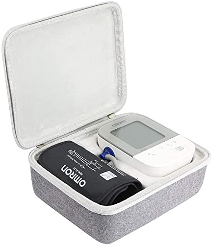 khanka Duro Viaje Estuche Bolso Funda para OMRON X4 Monitor de Tensión Arterial(case only) (Case for Omron X4, Black)