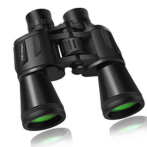20x50 Compact Binoculars with Low Light Night Vision, HD Professional/Daily Waterproof Telescope for Outdoor Hunting, Bird Watching, Sightseeing Fit for Adults and Kids with BAK4 Prism FMC Lens