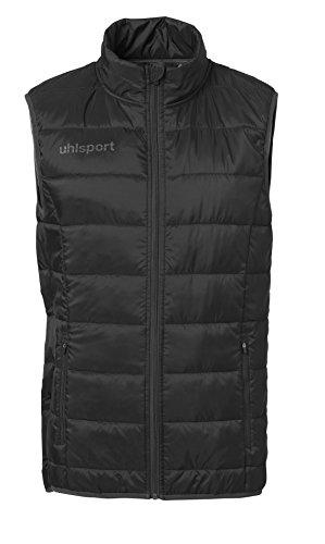 uhlsport Essential Ultra Lite Down Vest Chaleco Para Hombre, Hombre, negro/antracita, 5XL