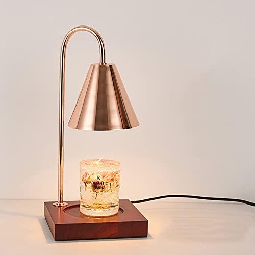 QLIGHA Candela elettrica a Cera Melt Warmer Candle Warmer Lampada Cera Warmer Candle Aromaterapia Cera Fusione Lampada Decorativa Lampada da Tavolo dimmerabile