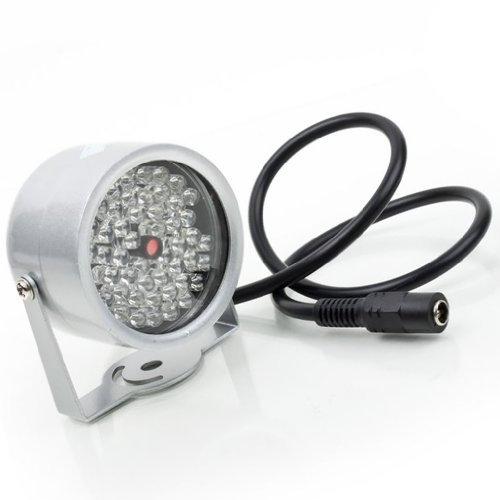 Sonline 48 LED Illuminator IR Infrarot-Nachtsicht-Licht-Lampe fuer Sicherheit CCTV-Kamera