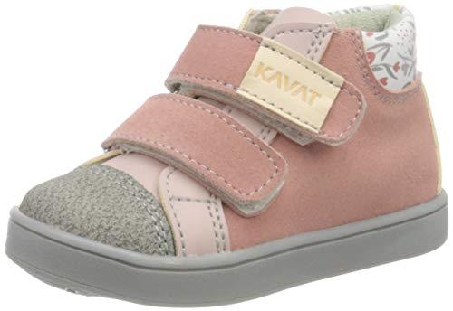 Kavat Mädchen Berg Hohe Sneaker, Pink (Pink 979), 27 EU