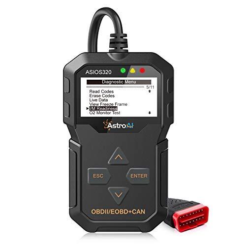 AstroAI OBD2 Diagnosegerät Scanner Klassischer und Universeller OBD II Scanner für den Motor zur Fehlerauslese mit Deutschem Handbuch