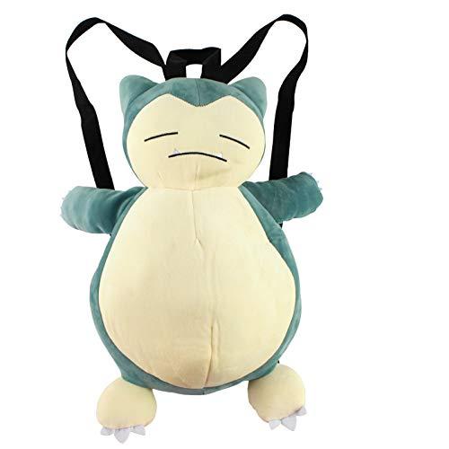 YFFSBBGSDK Plush Backpack Animepokémon Cartoon Cute Dummy Baby Plush Backpack Multifunctional Shoulder Bag