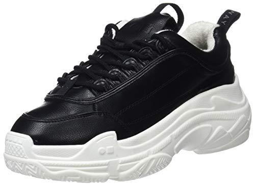 COOLWAY Shila, Zapatillas Altas Mujer, Negro (Blk 000), 39 EU