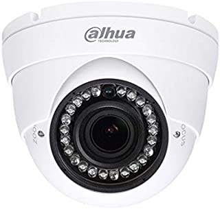 Dahua HAC-HFW1400T-A-POC Cam/éra de vid/éosurveillance ext/érieure 4 MP 2,8 mm 4 en 1 AHD Hybride IR LED Audio PoC