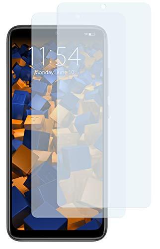 mumbi Schutzfolie kompatibel mit Xiaomi Redmi Note 9s Folie klar, Bildschirmschutzfolie (2X)
