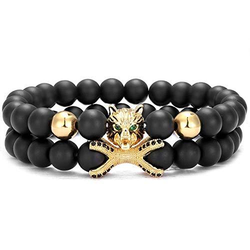 RJGOPL Trendset armband 8 mm stenen parels 10 mm micro-zirkonia disco bal bedel vriendschapsarmbanden voor mannen en vrouwen sieraden cadeau goud
