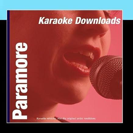 Karaoke Downloads - Paramore