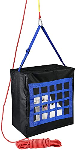 ISOP Fire Evacuation Device for Kids or Pets up to 75 Pounds - Compact Baby Safety Equipment - Rope 50 Feet Incl. - Emergency Survival Kit for Infants & Animals (Medium 19