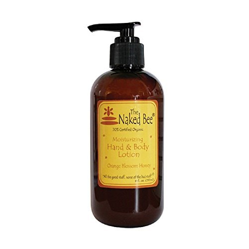 Naked Bee Orange Blossom Honey Hand Body Lotion 8 OZ by The Naked Bee