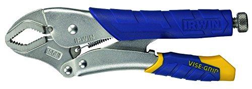 Irwin T11T Griptang Vise-Grip met gebogen bekken / 2K-kunststof handvat 250 mm, L