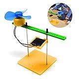 Kit de experimentos de física solar Mini Generador solar Generador DC Ventilador de motor DIY Física Circuito de motor Kit de dispositivos Ciencia Juguete para proyectos educativos de ciencias