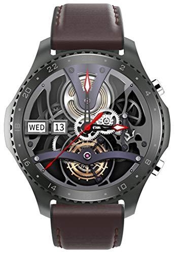 XWZ Relojes Inteligentes Pulsera De Llamada De Voz Bluetooth Reloj De Pulsera Pantalla De 1.3 Pulgadas Impermeable Temperatura Corporal En Tiempo Real Deporte Música Actividad Fitness Tracker