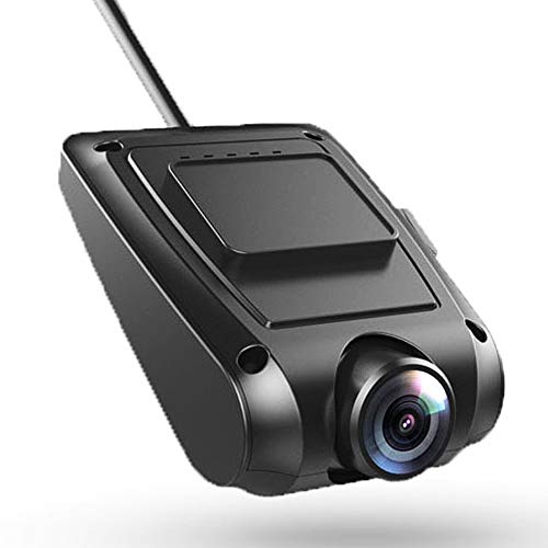 YANG Car Camera Dash Cam Front and Rear Best Hidden GPS Navigation with ADAS 1080P Resolution 12 Million Pixels