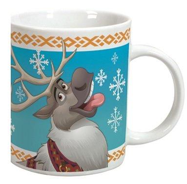 Disney ELSA Frozen Becher Tasse aus Keramik mit Sven Elch Olaf