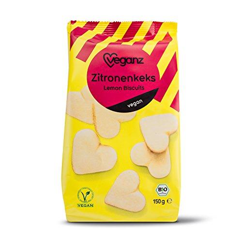 Veganz Zitronenkeks, 5er Pack (5 x 150 g)