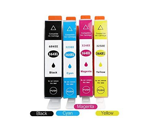 win-tinten Sostituzione delle cartucce d'inchiostro compatibili con l'immagine per HP 364 XL 364XL per Deskjet 3070A, Photosmart 5520 5510 5511 5512 5515 5524 6510 6520 6515 7510 7520 7515 B8550