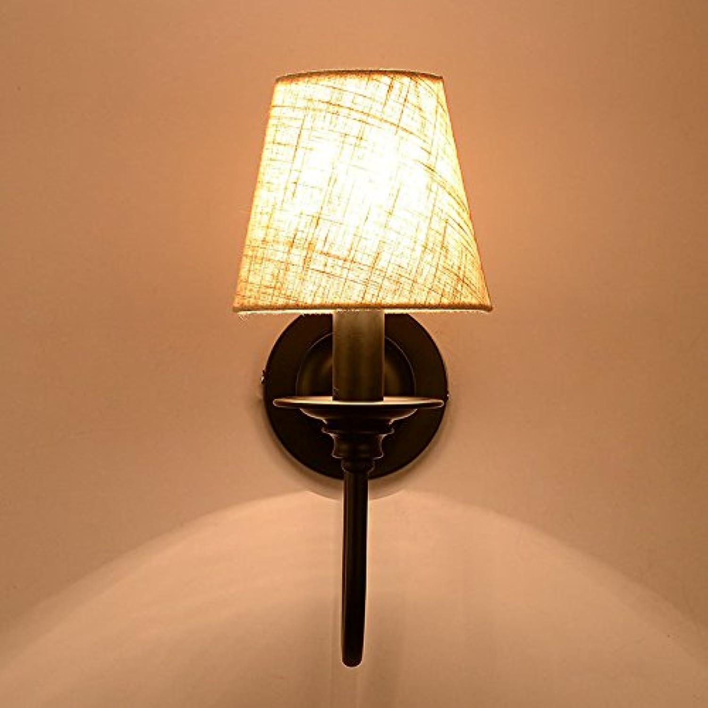 Xzfddn Amerikanische Persnlichkeit Retro Wandleuchte Indoor Led Eisen Lampe Schlafzimmer Studie An Der Wand Nachttischlampe
