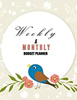 Budget Planner Weekly and Monthly: Budget Planner for Bookkeeper Easy to use Budget Journal (Easy Money Management): Weekly and Monthly: Budget Planner for Bookkeeper Easy to use Budget Journal (Easy Money Management)
