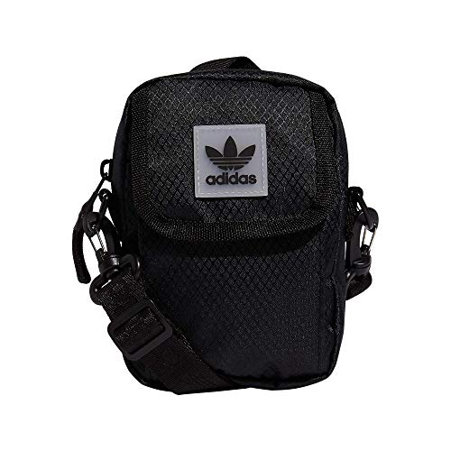 adidas Originals Utility Festival - Bolso bandolera (talla única), color negro