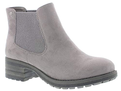 Rieker Damen Stiefel 96884, Frauen Winterstiefel, weibliche Lady Ladies feminin elegant Women's Women Woman Freizeit leger,Grey,41 EU / 7.5 UK