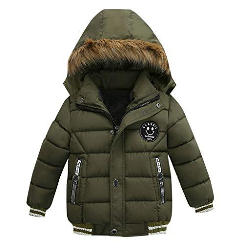Syliababy Kinderkleidung Baumwollmantel Junge Verdicke Winterjacke Warm Steppjacke...