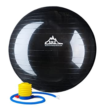 Best black mountain exercise ball Reviews