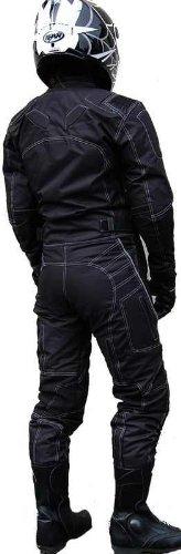 DAMEN MOTORRADKOMBI JACKE + HOSE – ATMUNGSAKTIV WIND+WASSERDICHT – BIKE MOTORRAD ROCKER TOURING - 2