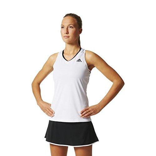 adidas Club Camiseta, Mujer, Blanco, L