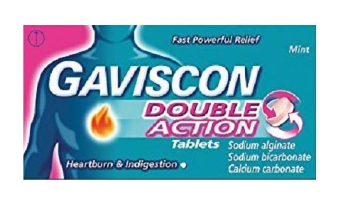 Double Action Tablets Heartburn and Indigestion, Pack of 96
