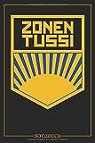 DDR Zonen Tussi Notizbuch | Buch im FDJ Stil | Deutsche Demokratische Republik | A5, 120 Seiten, liniert: Tagebuch für Ossis, Ostdeutsche, Bürger der DDR mit...