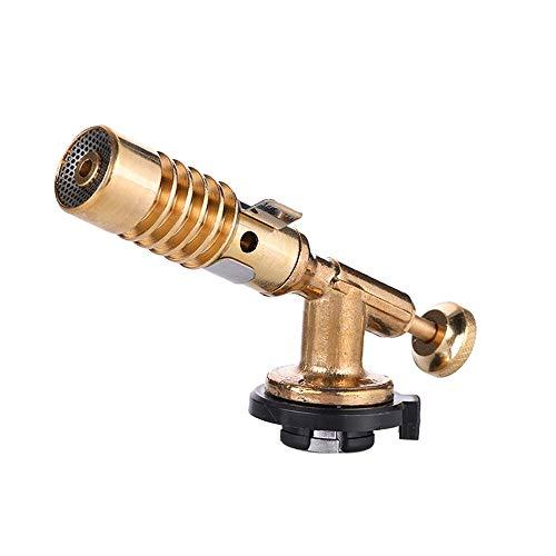 Tragbarer Gasbrenner, Flammenpistole, Messing, Schweißbrenner, verstellbare Flamme, Schweißwerkzeug