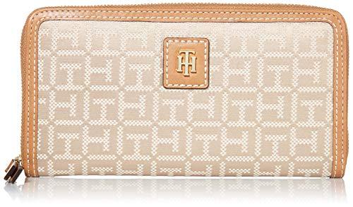 Tommy Hilfiger Julia Large Nylon Zip Wallet, Khaki Tonal