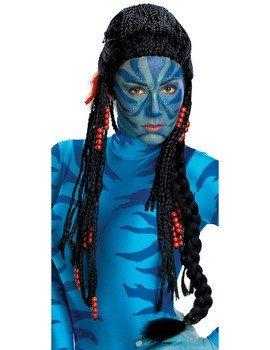 Unbespielt Halloween Party Karneval Neytiri Avatar Deluxe Perücke